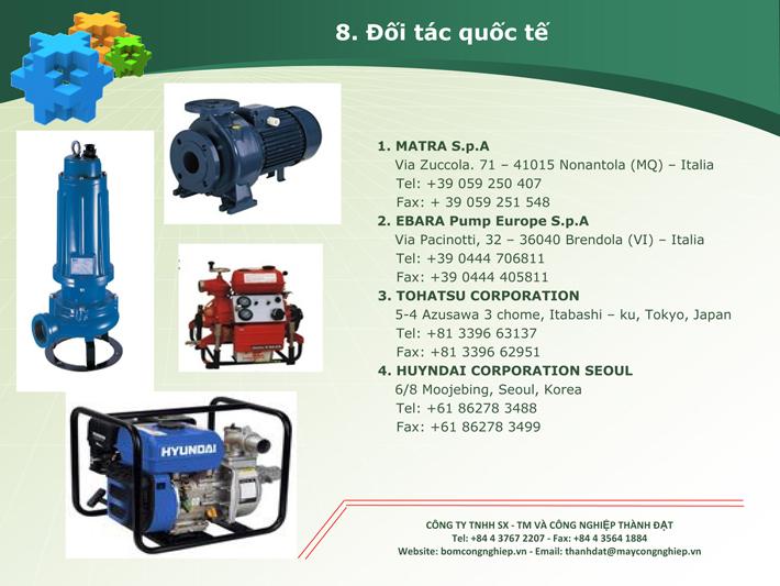 Công ty máy bơm nước thành đạt 15