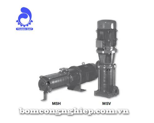 Máy bơm nước trục đứng Matra MS-D