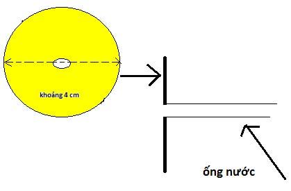 Chế máy bơm nước mini bước 7