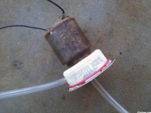 chế máy bơm nước mini