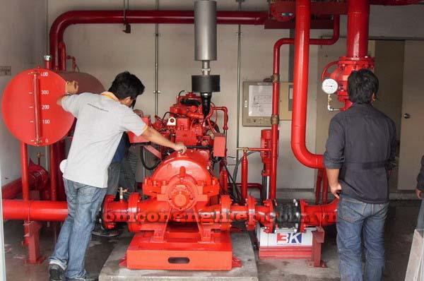 Cơ sở lắp ráp máy bơm nước