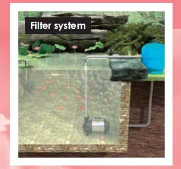 mô tả máy bơm nước hồ cá cảnh