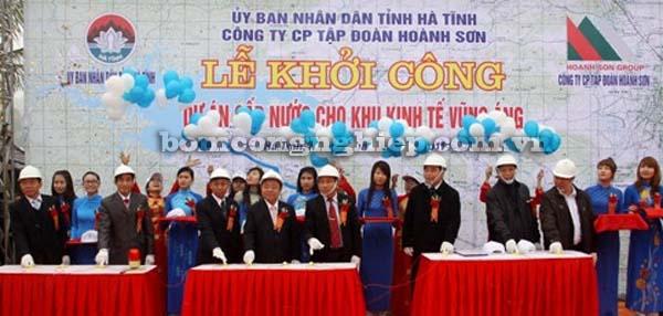 Triển khai dự án cung cấp máy bơm nước tại Hà Tĩnh