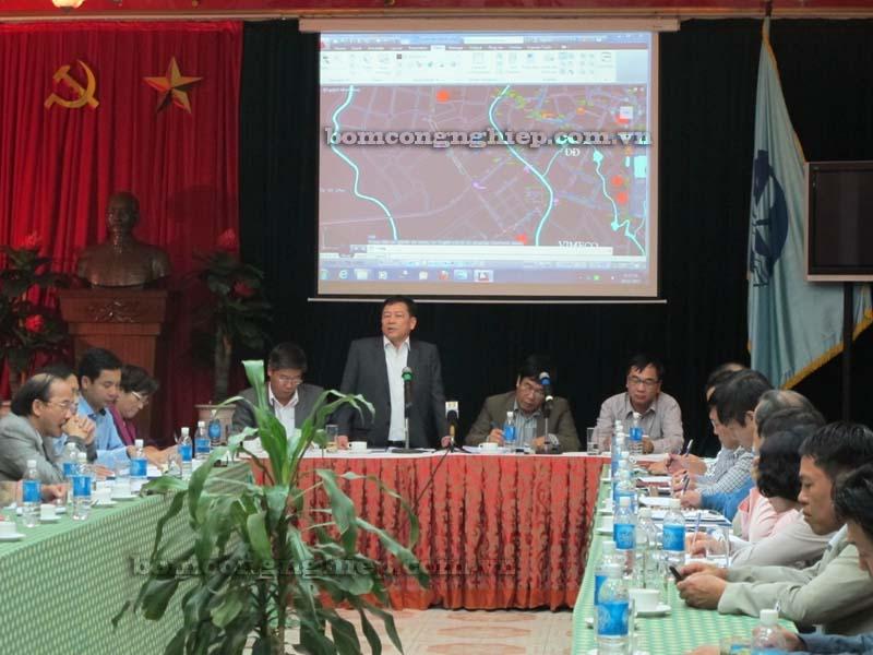 Triển khai dự án máy bơm nước tại Hà Nội