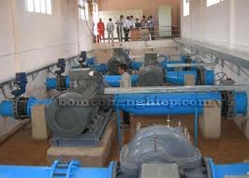 Triển khai dự án máy bơm nước tại Nghệ An