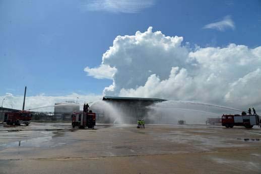 Triển khai dự án máy bơm nước tại nhà máy lọc dầu Dung Quất