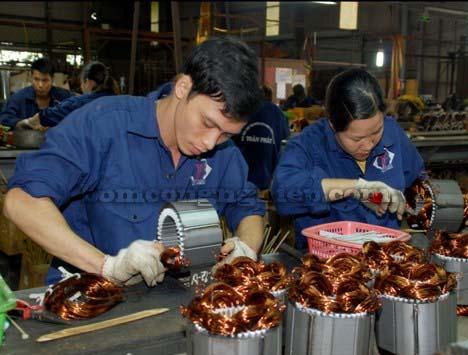 Cơ sở sản xuất máy bơm nước