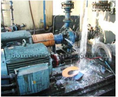 Nước tinh khiết có thể làm nổ máy bơm