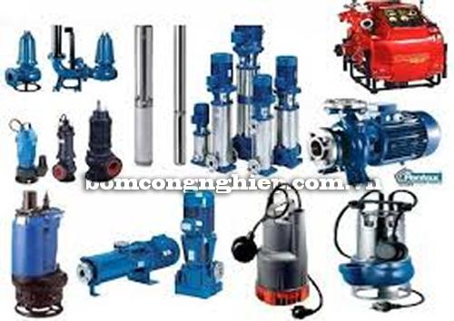 Phân loại máy bơm nước công nghiệp
