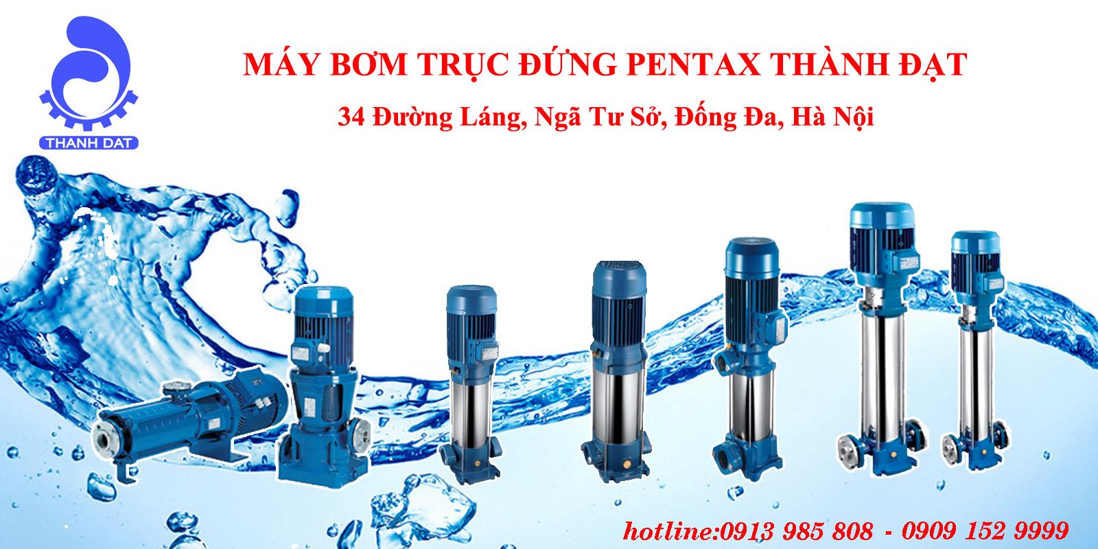 Cách bảo dưỡng bơm trục đứng Pentax