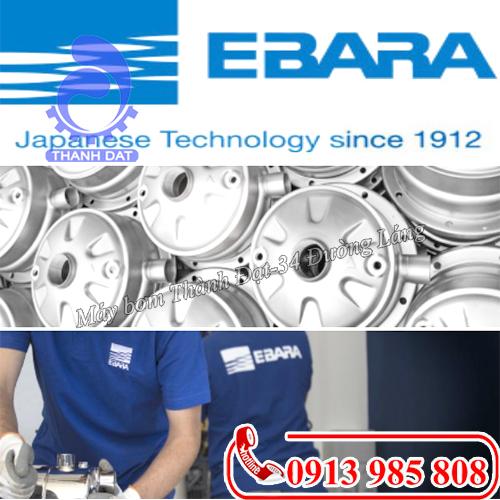 Thương hiệu máy bơm Ebara của nước nào? Có tốt không?