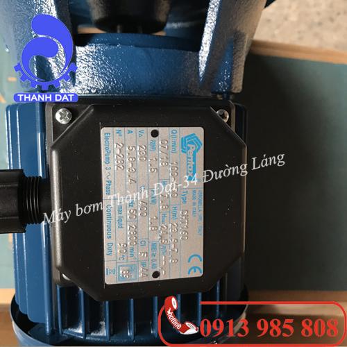 Máy bơm nước Ly tâm Pentax CH-300 3HP