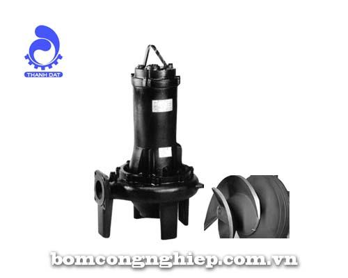 Máy bơm chìm Ebara nước thải 80DLC 55.5 7.5 HP