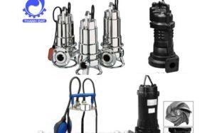 Ưu điểm của máy bơm nước thải Ebara