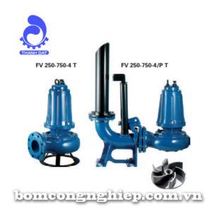 Máy bơm nước thải Foras FV 550-750