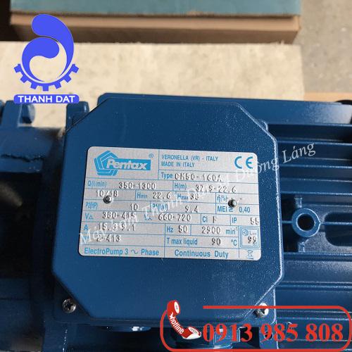 Máy bơm Pentax CM65-250A 50HP