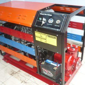 Các công đoạn lắp đặt và sử dụng máy bơm chữa cháy Diesel