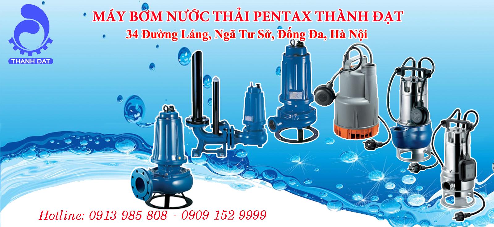 5 dòng máy bơm nước thải Pentax bán chạy nhất