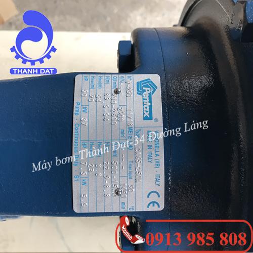 Đầu bơm nước trục rời Pentax CA 80 250A 75HP