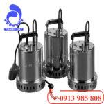 Giới thiệu sản phẩm máy bơm nước thải Ebara