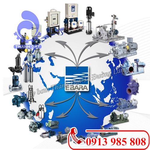 Thành Đạt – đơn vị cung cấp bơm công nghiệp Ebara chất lượng, giá tốt