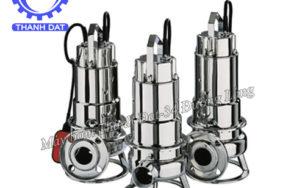 Vận hành và bảo dưỡng máy bơm nước thải Ebara