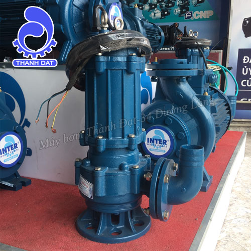 Máy bơm nước thải Inter 50WQ10-15-1.5/2