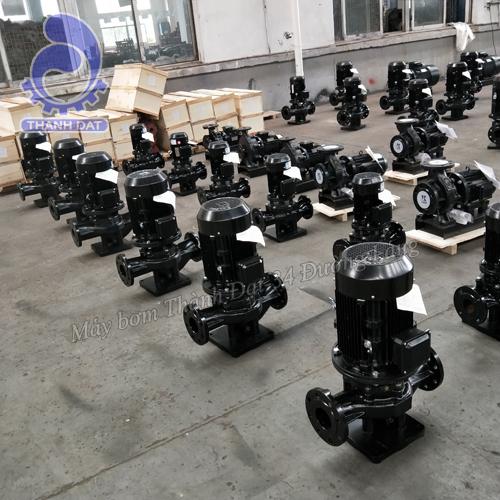 Máy bơm trục đứng inline Kaiquan 65KQL25-50-7.5/2