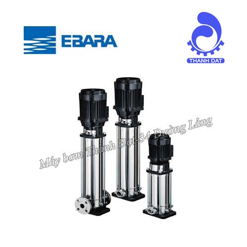 Giới thiệu về dòng máy bơm trục đứng Ebara