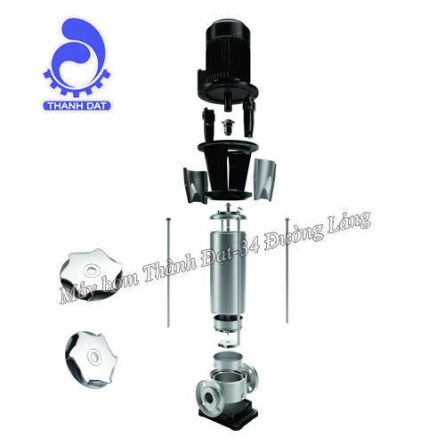 Hướng dẫn bảo dưỡng máy bơm trục đứng đa tầng cánh Ebara