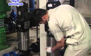 Hướng dẫn lắp đặt máy bơm ly tâm trục đứng Ebara đúng cách khi mới mua