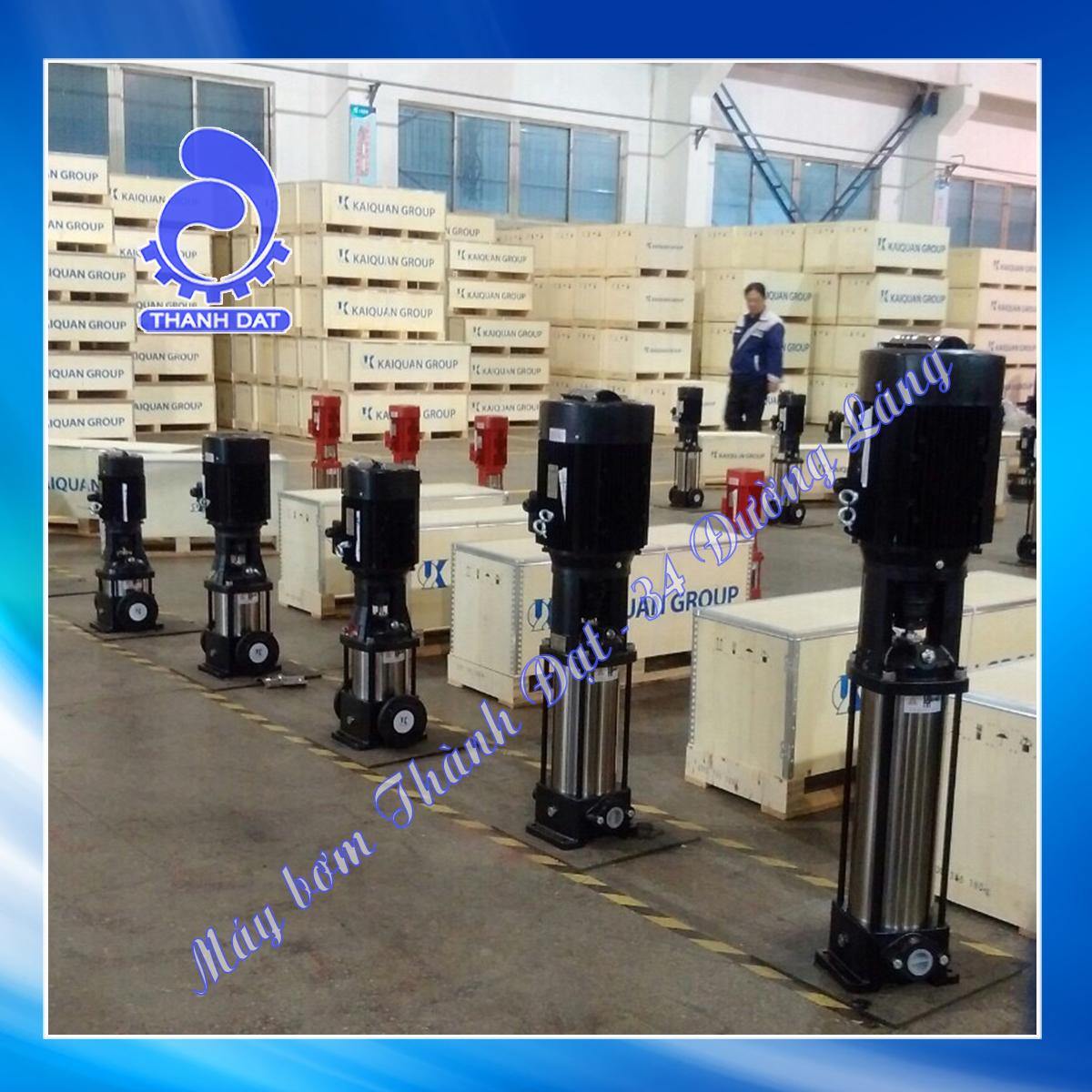 Máy bơm trục đứng Kaiquan KQDP40-8-142