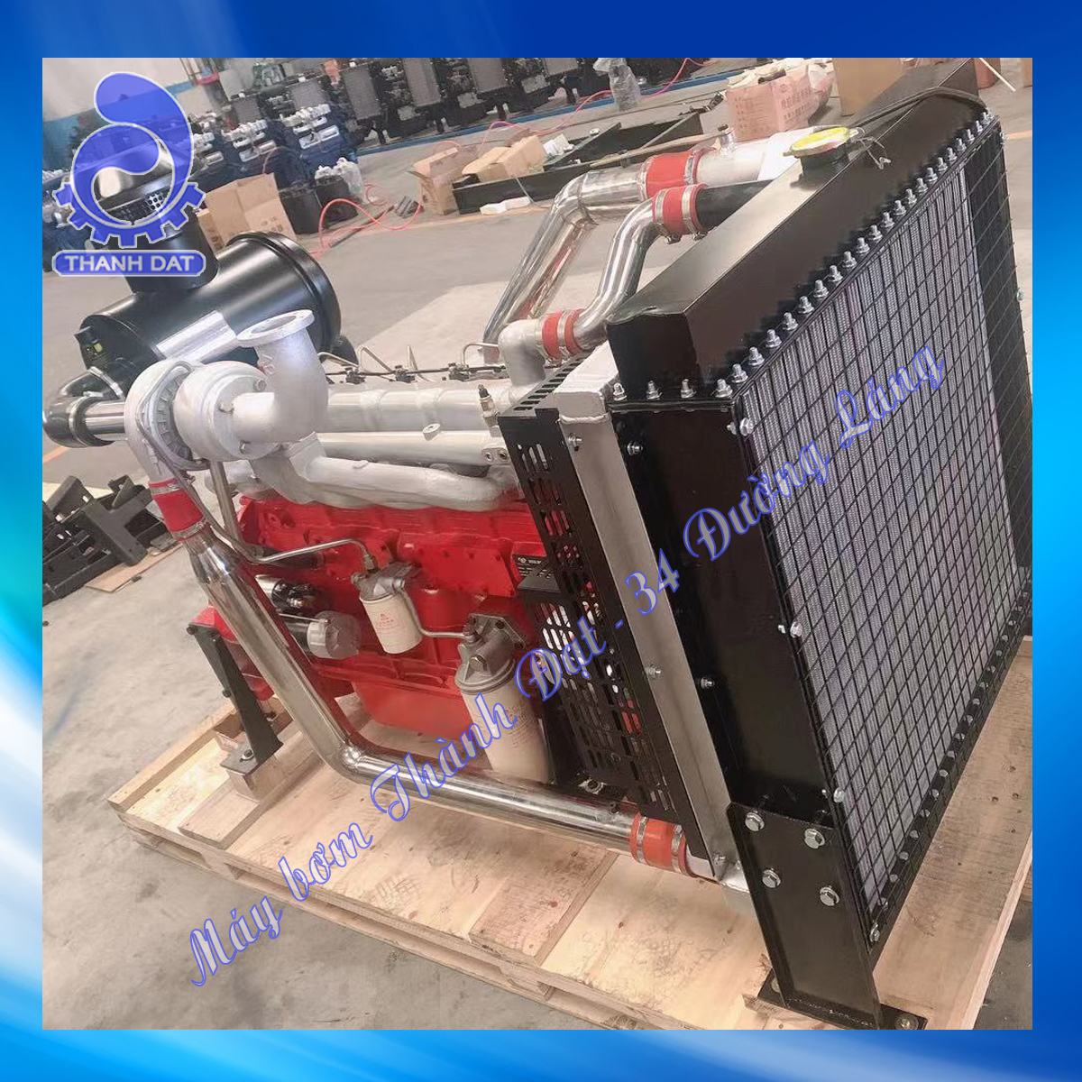 Động cơ diesel Weifang 6BD-ZL